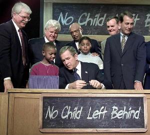 No Child Left Behind Bush