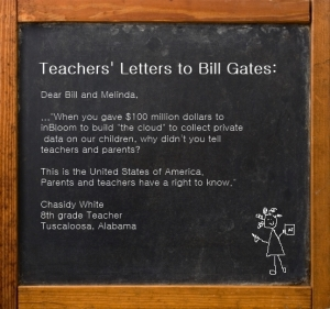 Teachers Letters to Bill Gates - Chasidy White - inBloom