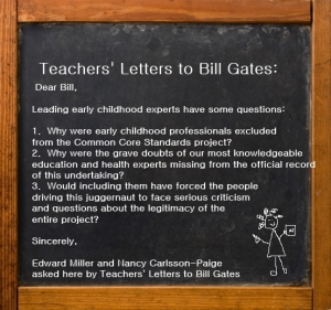 Teachers Letters to Bill Gates - Edward Miller and Nancy Carlsson-Paige