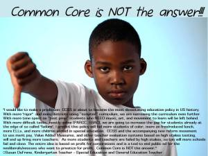 Common Core is NOT the Answer