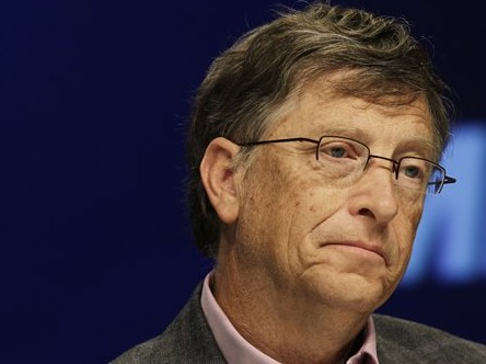 Sad Bill Gates